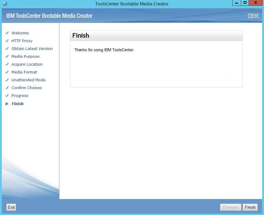 Как создать диск обновления драйверов для IBM сервера из локального репозитория-13
