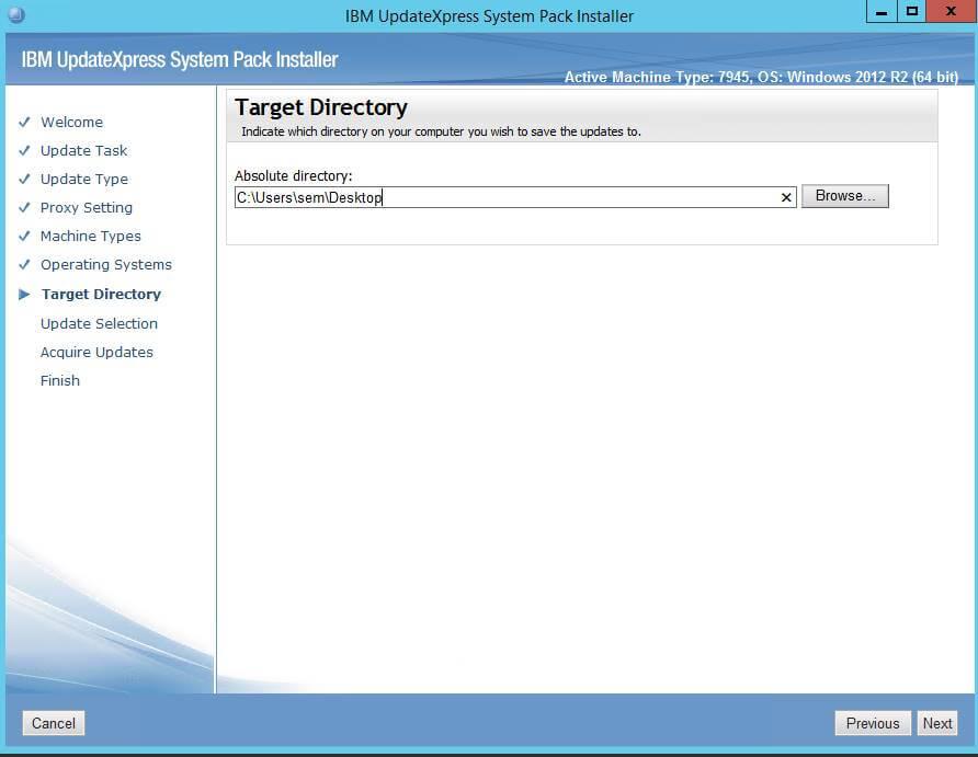 Как создать репозиторий обновлений для IBM серверов-07