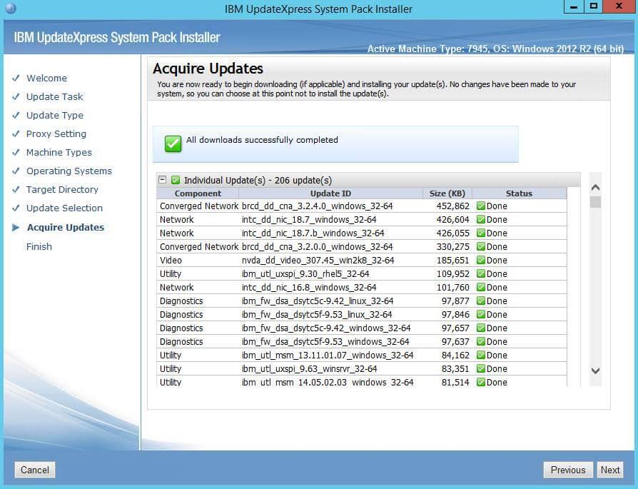 Как создать репозиторий обновлений для IBM серверов-11