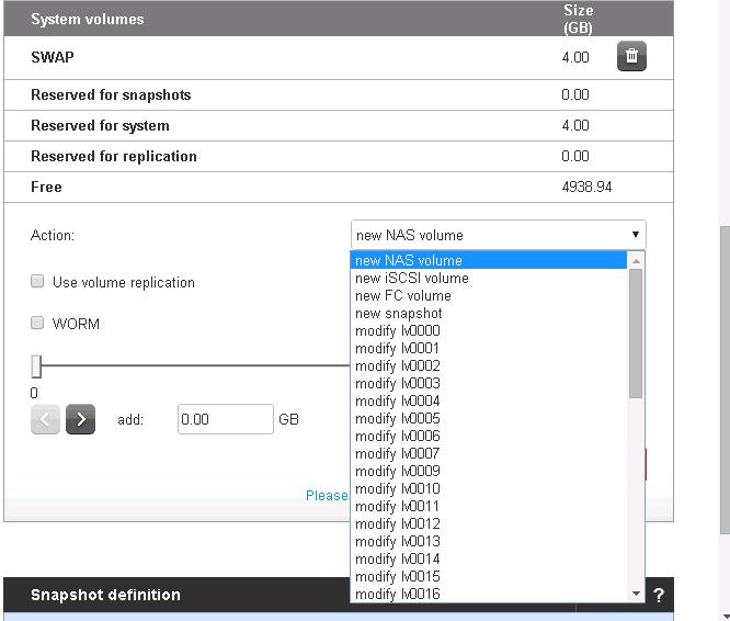 Как создать volume в Open-E 7 и отдать его ESXI 5.5-03