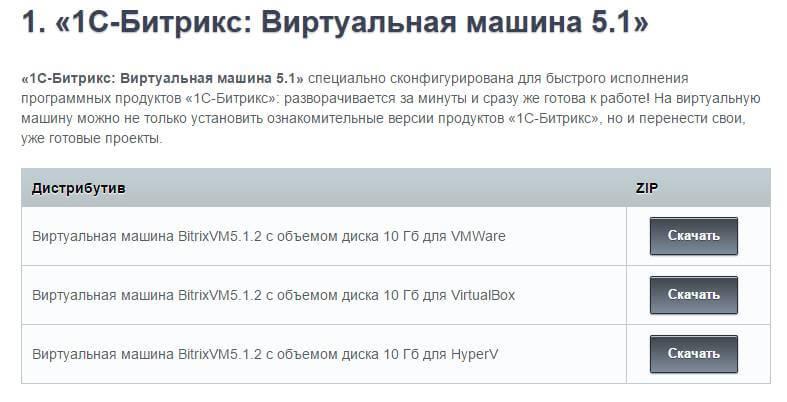 Как установить 1C-Битрикс Виртуальная машина 5.1 на ESXI 5.5-02