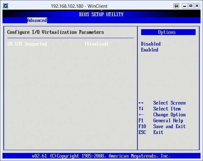 Как включить поддержку виртуализации на сервере Asus Z8NR-D12-12
