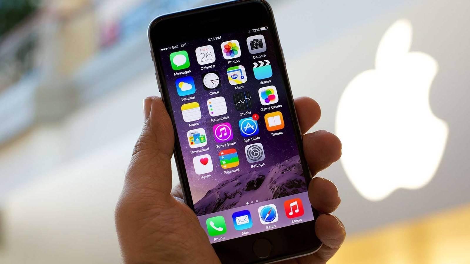 Не удалось установить связь с сервером обновления ПО iPhone-01
