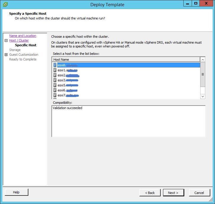 Неактивна команда Convert to Virtual Machine в vCenter 5.5-04