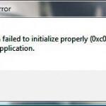 Ошибка 0xc0000005 при запуске приложения