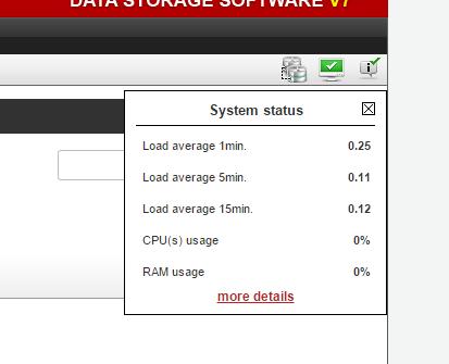 Ошибка Open-e в веб интерфейсе не работаю кнопки действий-01