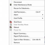 Как перевести хост ESXI 5.5 в режим обслуживания (maintenance mode)
