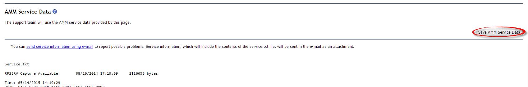Как собрать логи AMM на IBM BladeCenter-02