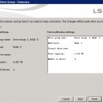 Как добавить диск в существующий RAID на контроллере LSI