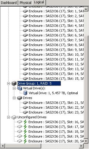 Как изменить тип рейда с RAID5 на RAID6 в контроллерах LSI-01