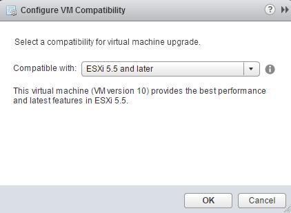 Как обновить версию виртуальной машины ESXI 5.5-Как обновить VM Version ESXI 5.5-10