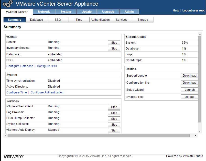 Как установить VMware-vCenter-Server-Appliance-5.5.0.10300-22