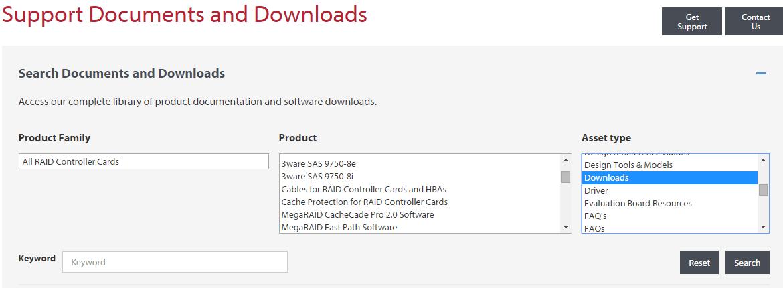 Где скачать драйвера, утилиты и прошивки для LSI контроллеров MegaRAID и 3ware SAS - 2 часть-03