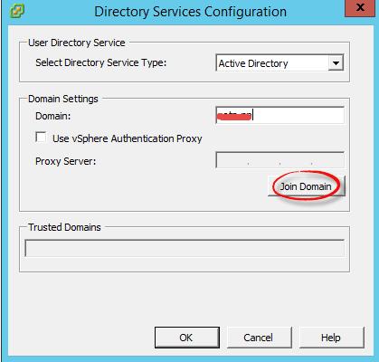 Как добавить ESXI 5.5 в домен Active Directory-02