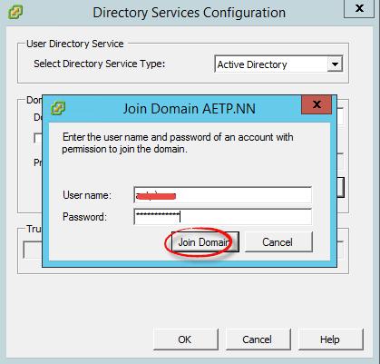 Как добавить ESXI 5.5 в домен Active Directory-03