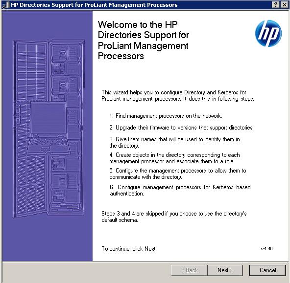 Как настроить аутентификацию Active Directory на HP iLO 3-02