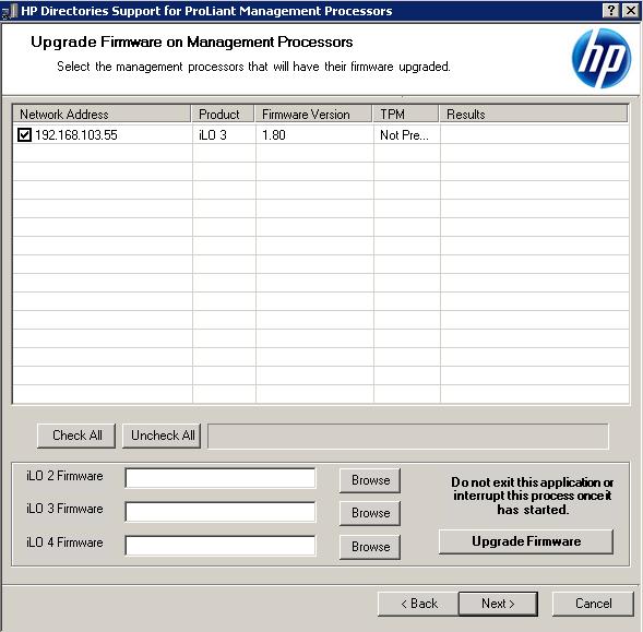 Как настроить аутентификацию Active Directory на HP iLO 3-05