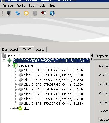 Как настроить email оповещение в LSI MegaRAID-01