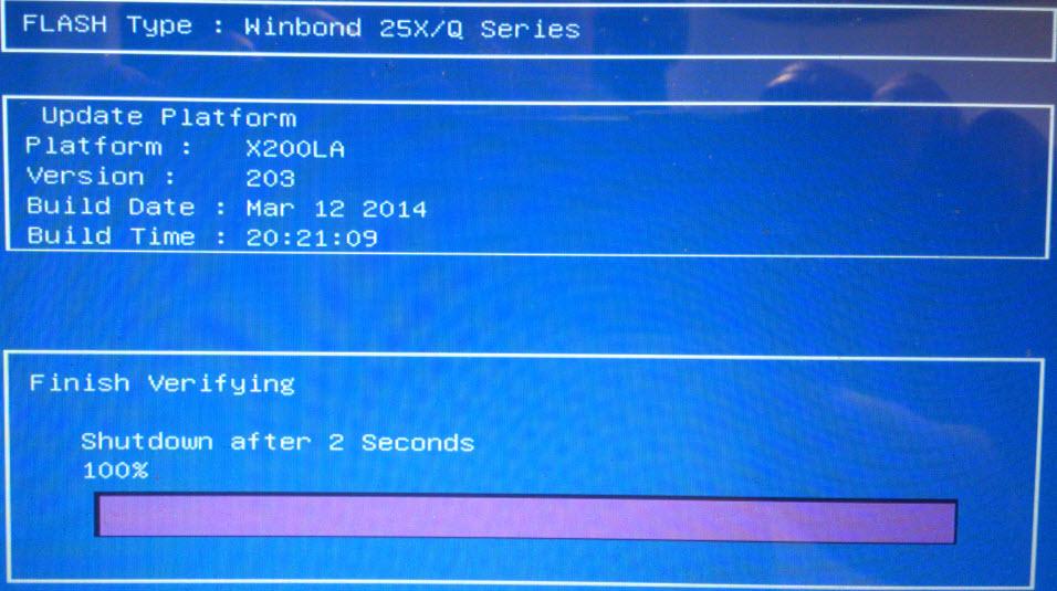 Как обновить BIOS ASUS X200LA-06