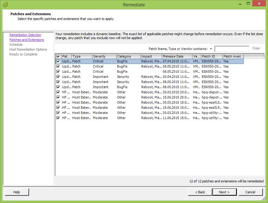 Как обновить драйвера Dell в VMware ESXi 5.5 через Update Manager-11