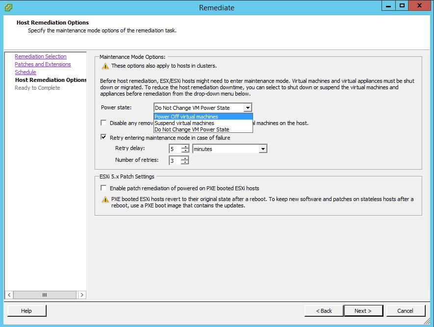 Как обновить драйвера HP в VMware ESXi 5.5 через Update Manager-16