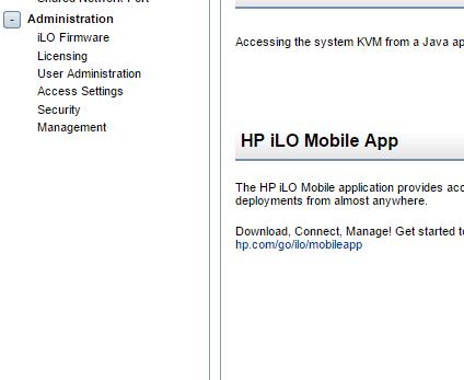 Как получить пробную лицензию HP для ILO порта-11