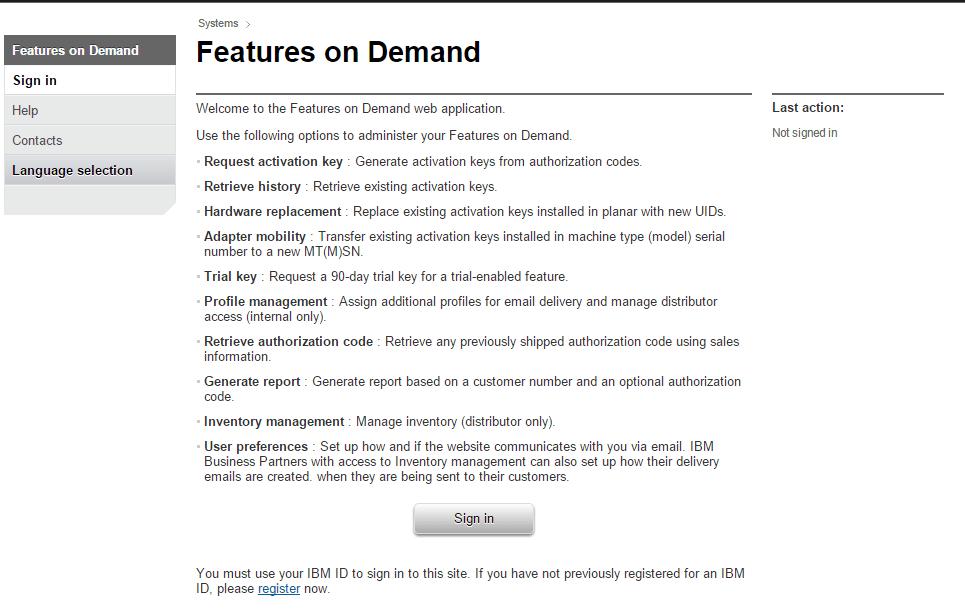 Как получить пробную лицензию для активации IBM IMM2 до редакции Advanced-02