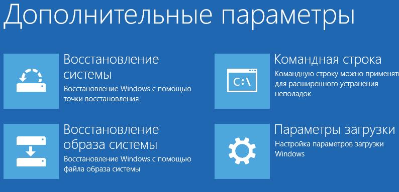 Как попасть в меню Дополнительные параметры в Windows 8.1-01