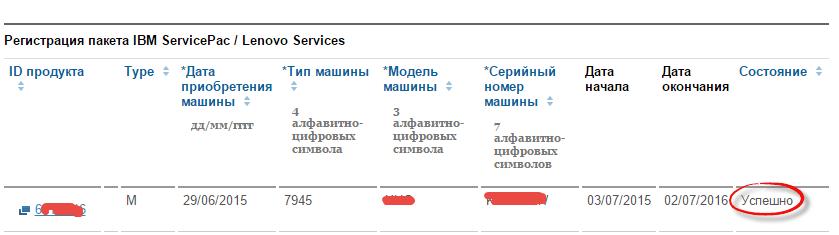 Как продлить сервисную подписку IBM-08