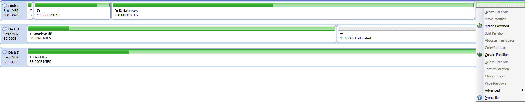 Как расширить системный раздел в Windows 7,8.1,10-03