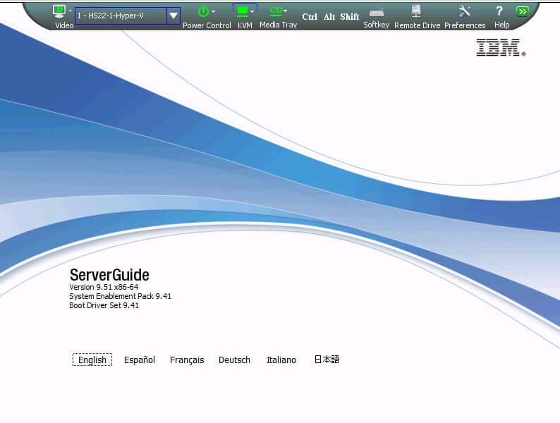 Как установить Windows 2012R2 на блейды IBM Blade HS22-01
