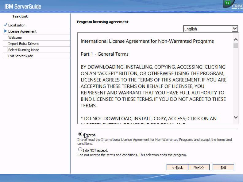 Как установить Windows 2012R2 на блейды IBM Blade HS22-03