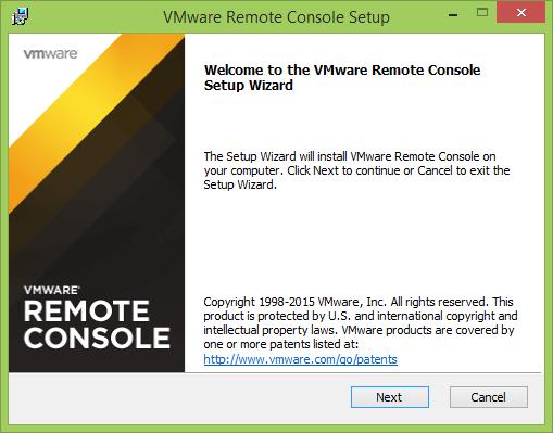 Как установить vmWare Remote Console-001