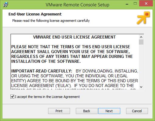 Как установить vmWare Remote Console-002
