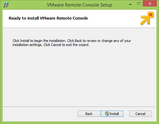 Как установить vmWare Remote Console-005