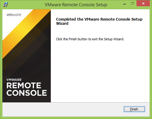Как установить vmWare Remote Console-006
