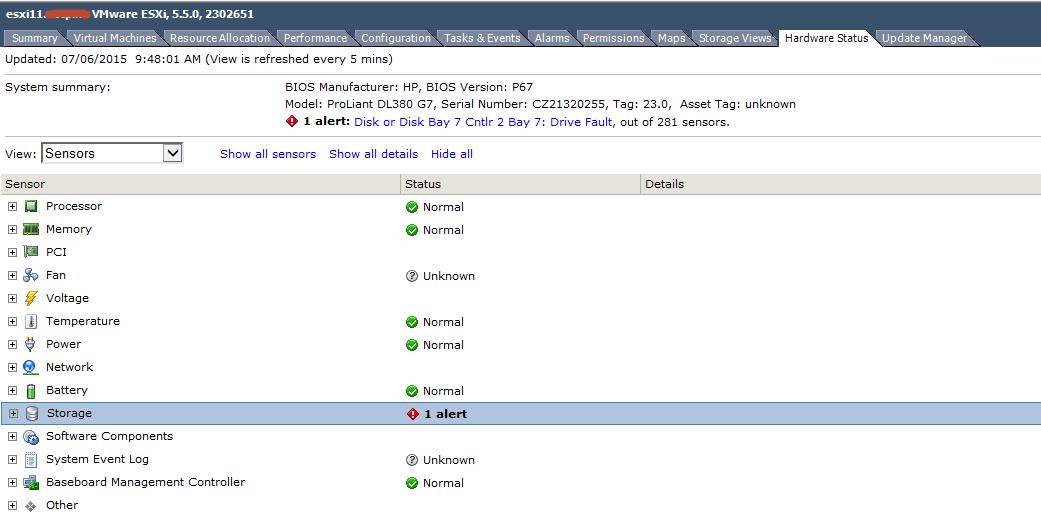 Ошибка host storage status в vCenter 5.5-13