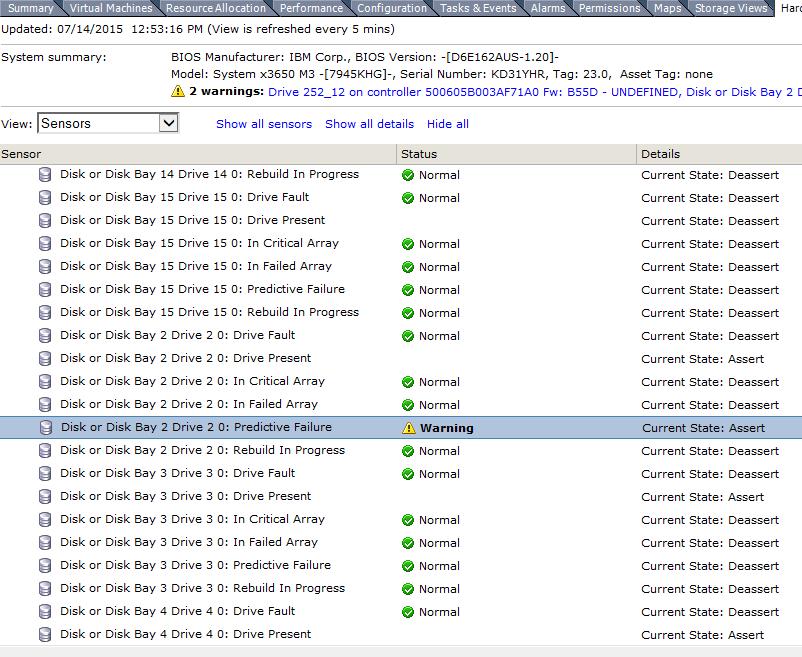 Ошибка host storage status в vCenter 5.5-15