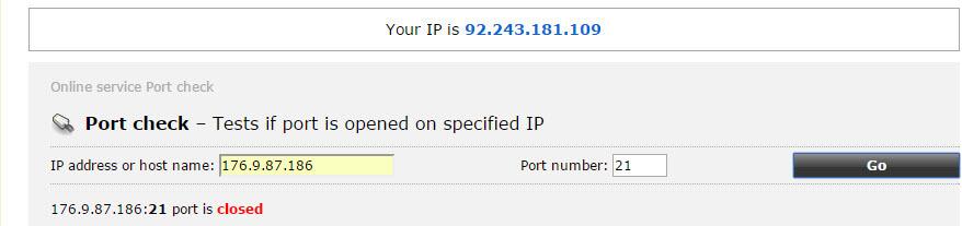 Ошибка в ходе открытия папки на FTP-сервере произошла ошибка-18