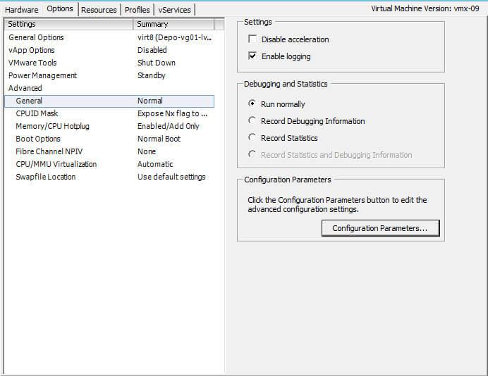 Ошибка vix error code = 21009 при обновлении VMware Tools в vCenter 5.5-2