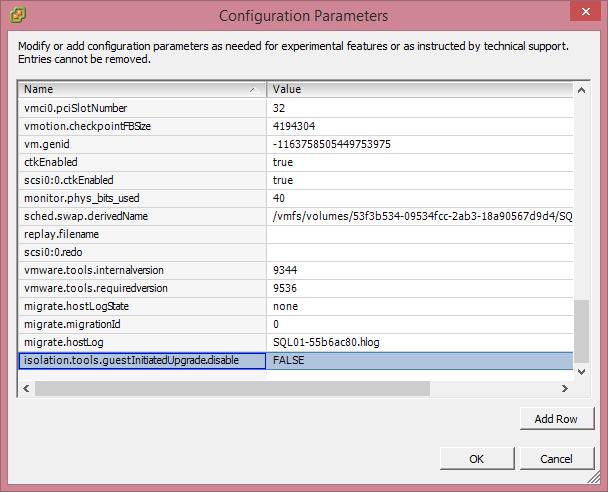 Ошибка vix error code = 21009 при обновлении VMware Tools в vCenter 5.53