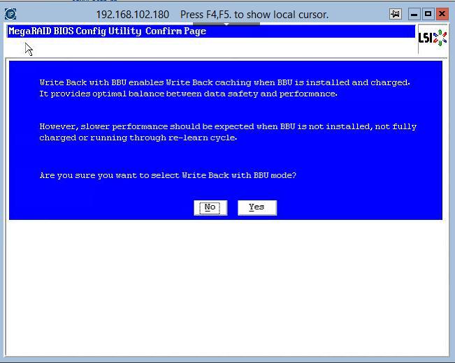 как зайти в RAID утилиту LSI при загрузке сервера-21