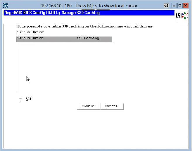 как зайти в RAID утилиту LSI при загрузке сервера-24