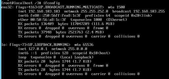 Как настроить сеть на CentOS 7 minimall - Как настроить статический ip адрес на CentOS 7 minimall-10