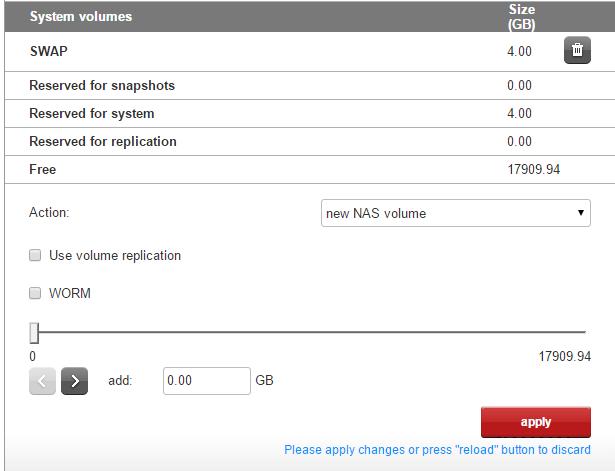 Как подключить NFS диск с Open-e 7 в VMware ESXI 5.5-03