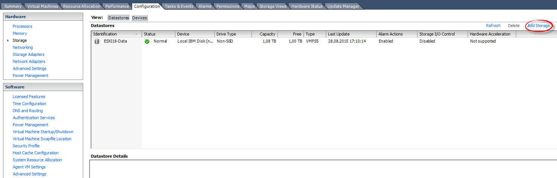 Как подключить NFS диск с Windows Server 2012 R2 в VMware ESXI 5.5-33