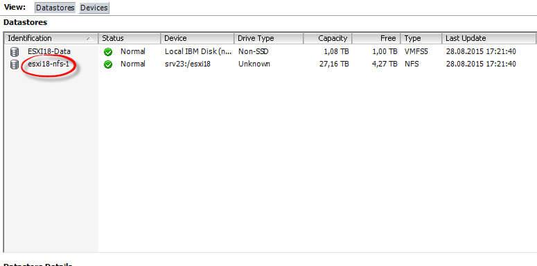 Как подключить NFS диск с Windows Server 2012 R2 в VMware ESXI 5.5-37