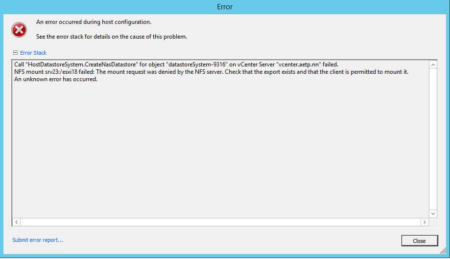 Как подключить NFS диск с Windows Server 2012 R2 в VMware ESXI 5.5-43