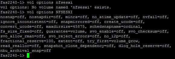 Как создать Volume на NetApp fas2240 через командную строку-05