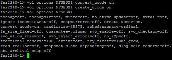 Как создать Volume на NetApp fas2240 через командную строку-07